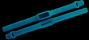 Offenes Armband und Rückseite